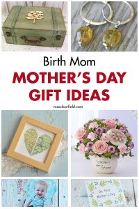 Birth Mom Mother's Day Gift Ideas