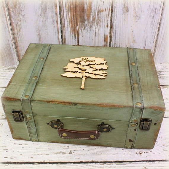 Mother's Day Gift Ideas for Birth Moms - Keepsake Box via Our Sweet Home Alabama on Etsy | https://www.roseclearfield.com