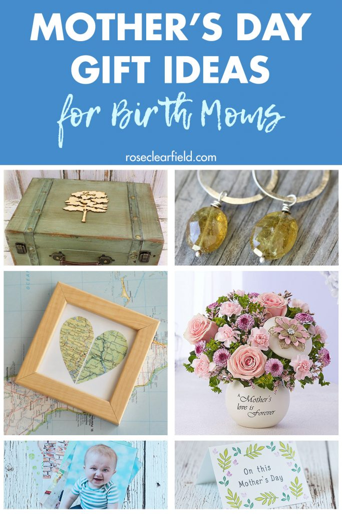 Mother's Day Gift Ideas for Birth Moms