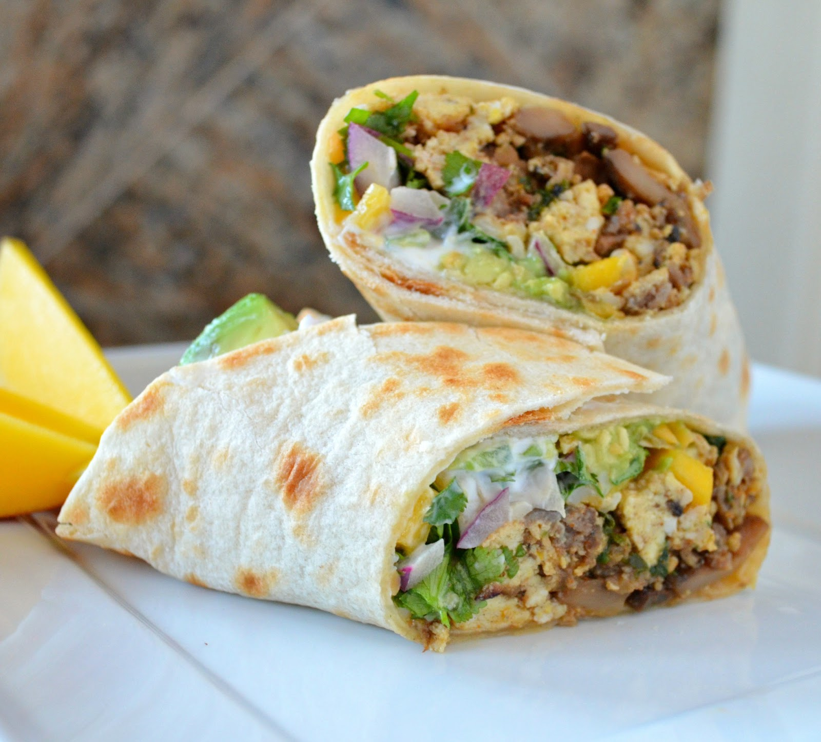 Breakfast for Dinner Ideas - Breakfast Burritos Serena Bakes via Simply from Scratch | https://www.roseclearfield.com