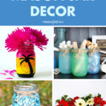 DIY Summer Mason Jar Decor