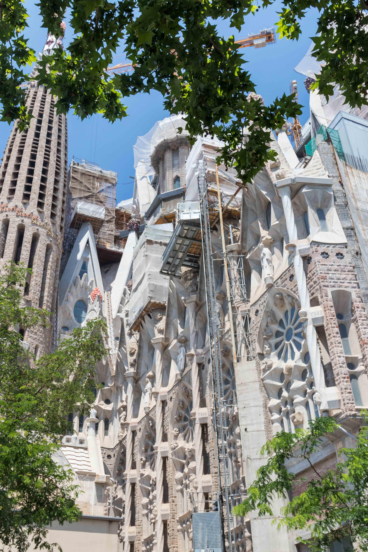 Barcelona Sagrada Familia Exterior   https://www.roseclearfield.com
