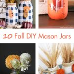 10 DIY Fall Mason Jars