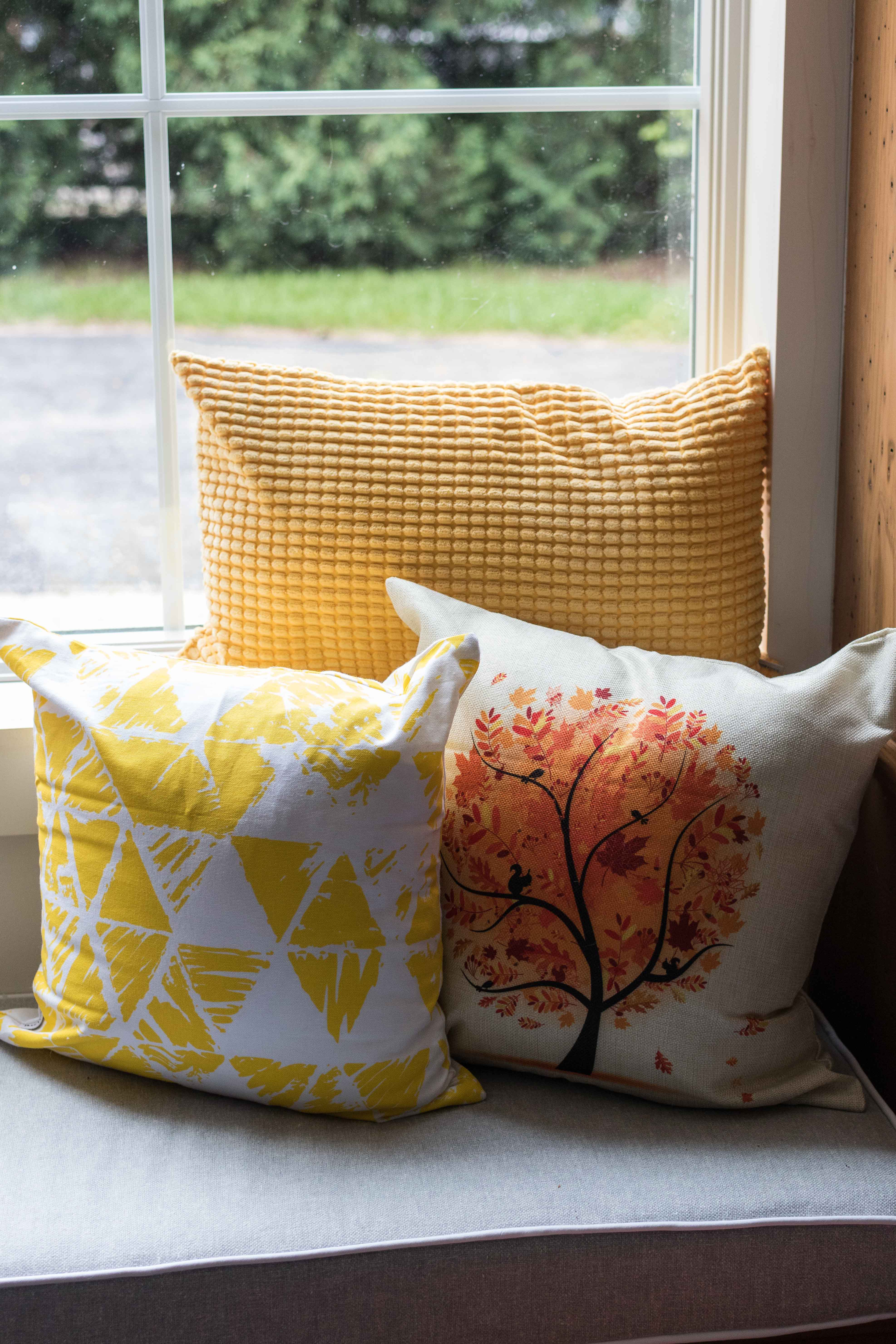 Cheap Fall Throw Pillows on Amazon