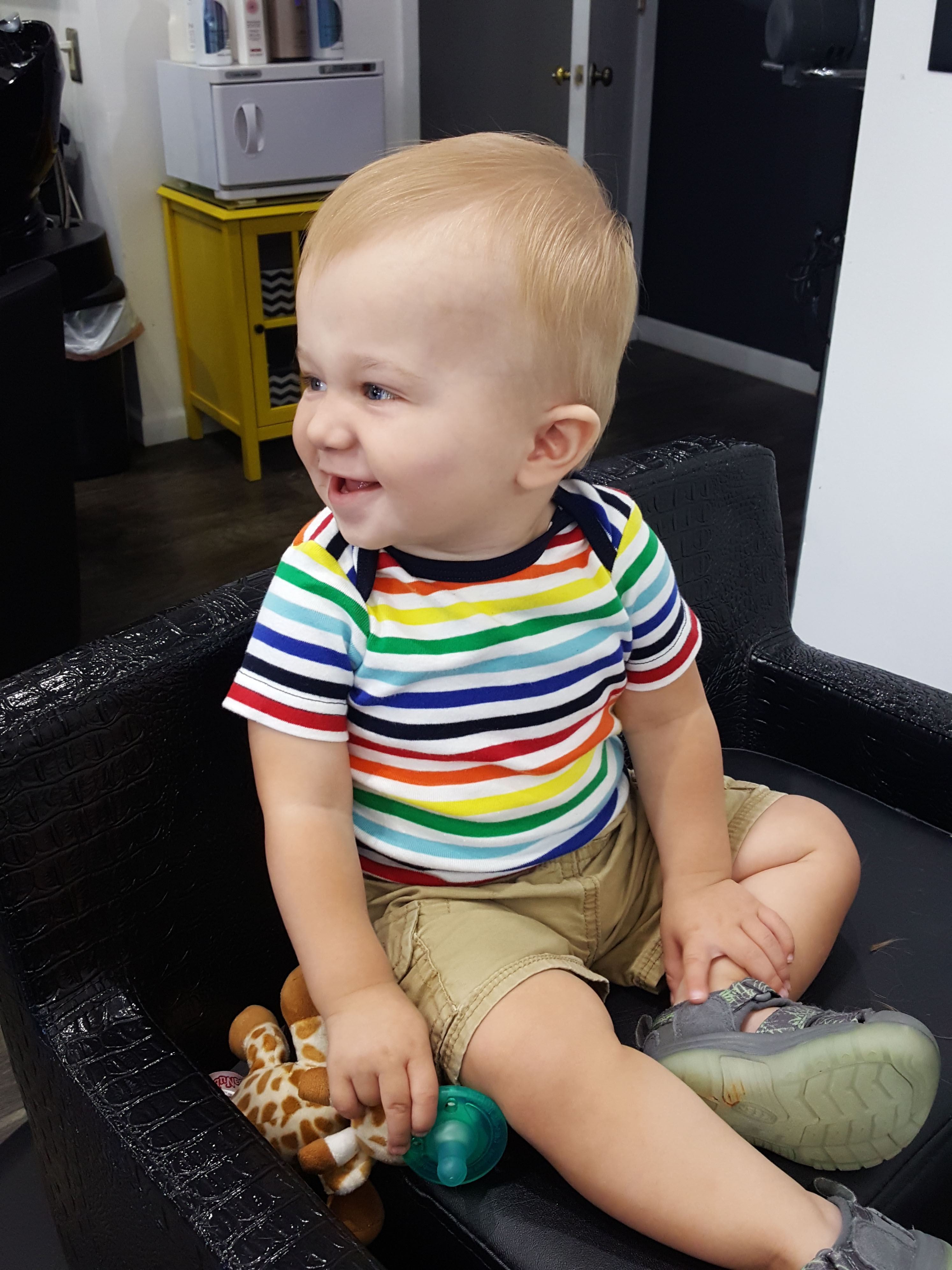 Tommy's First Haircut September 2018 | https://www.roseclearfield.com