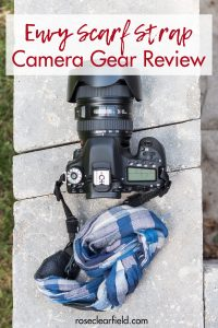 Envy Scarf Strap Photography Gear Review