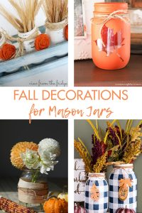 Fall Decorations for Mason Jars