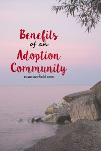 Benefits of An Adoption Community | https://www.roseclearfield.com