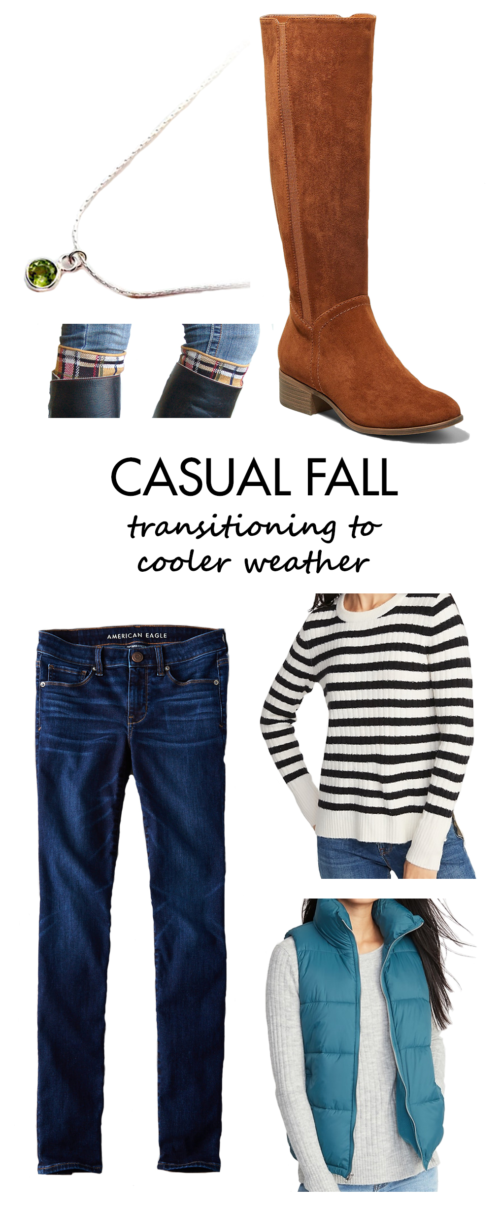 Casual Fall Outfits Inspiration - Transitioning to Cooler Weather | https://www.roseclearfield.com