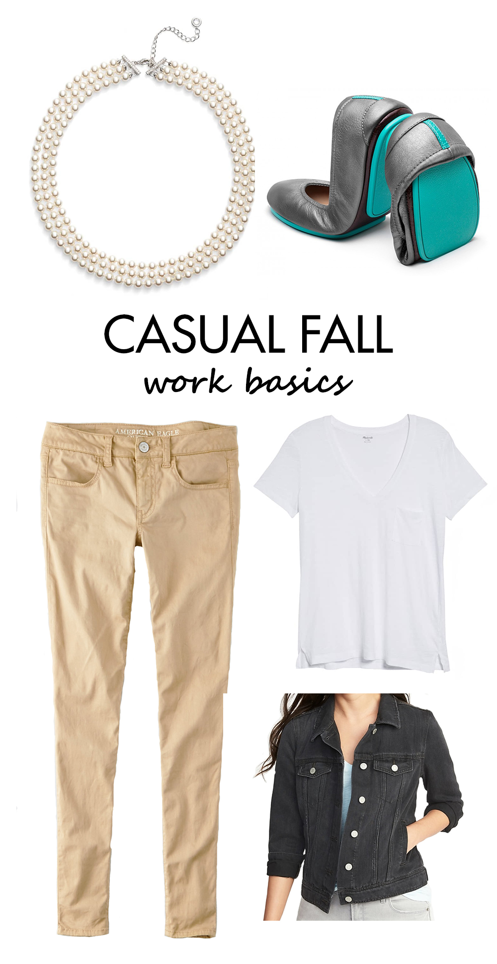 Casual Fall Outfits Inspiration - Work Basics | https://www.roseclearfield.com