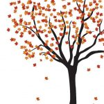 Free Fall Printables Round Up - Fall Tree Printable via Evalily | https://www.roseclearfield.com