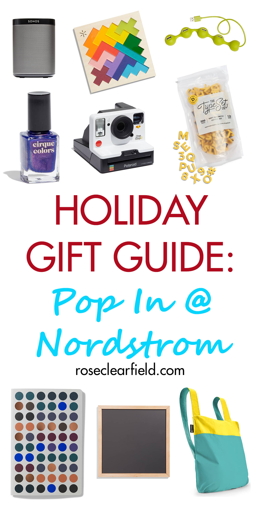Holiday Gift Guide: Pop In@Nordstrom | https://www.roseclearfield.com