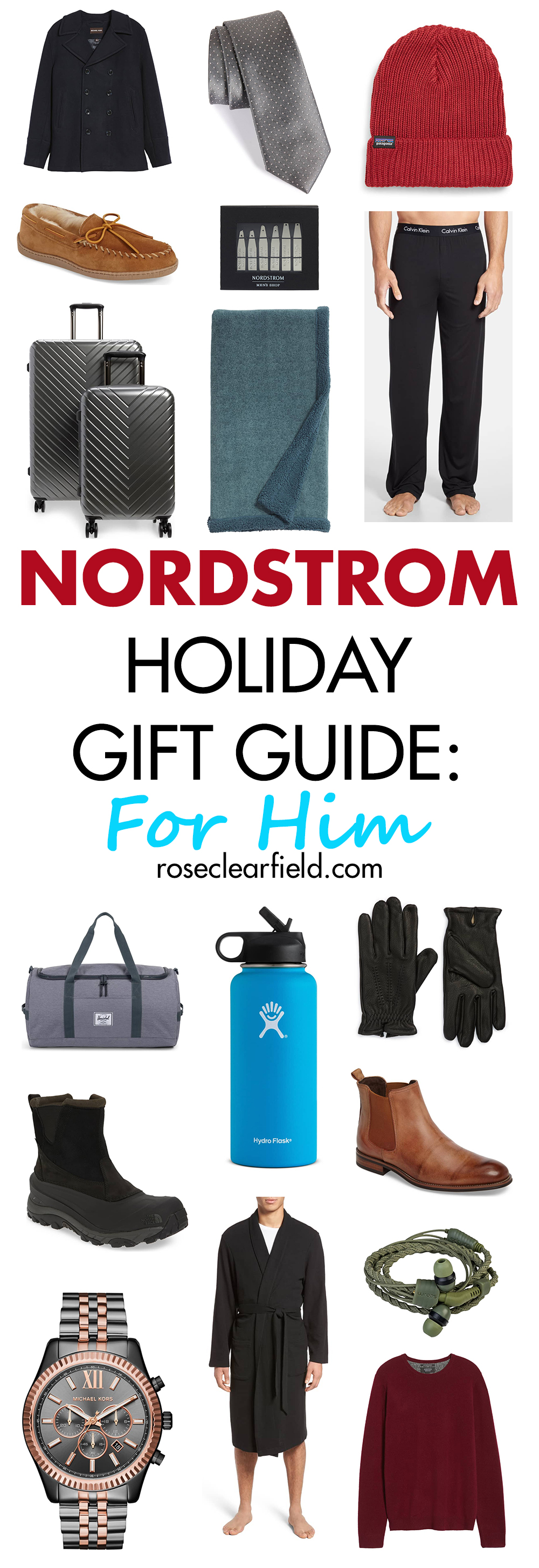 Nordstrom Holiday Gift Guide: For Him | https://www.roseclearfield.com