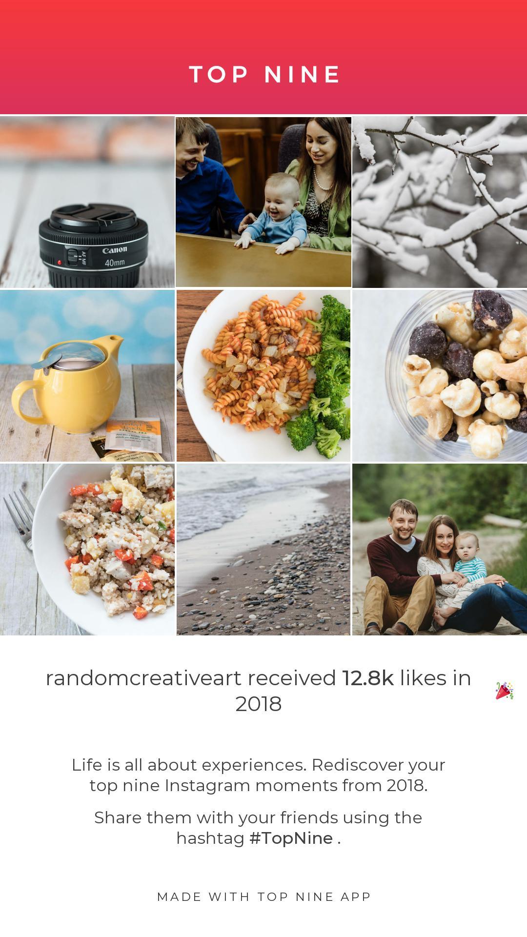 Best in Nine on Instagram 2018   https://www.roseclearfield.com
