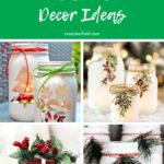 Christmas Mason Jar Decor Ideas