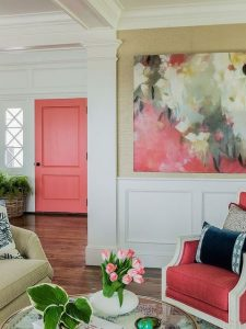 Living Coral Inspiration | https://www.roseclearfield.com
