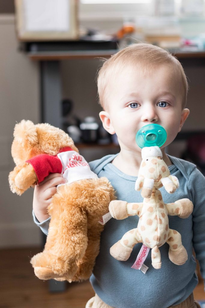 Tommy With His Bear November 2018   https://www.roseclearfield.com