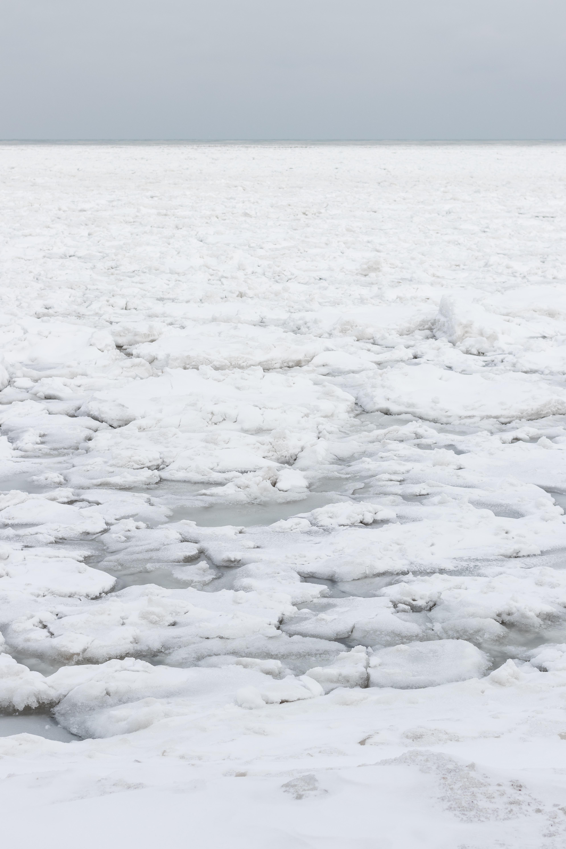 Iced Beach, Lake Michigan, Southeast WI | https://www.roseclearfield.com