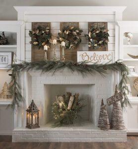 Kirkland S Winter Wonderland Christmas Decorations Rose Clearfield