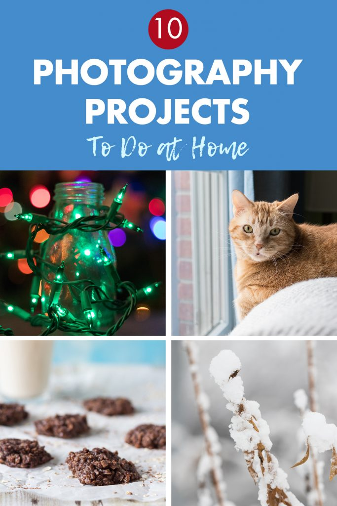 10 Photography Projects To Do at Home