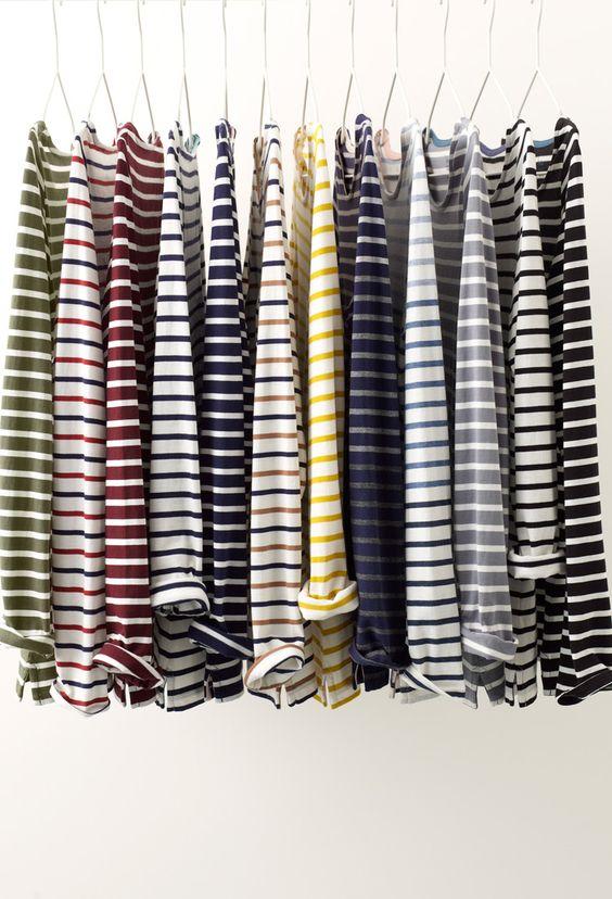 Stripes Inspiration - Striped Women's Tops via Boden | https://www.roseclearfield.com