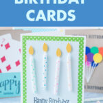 10 Easy DIY Birthday Cards