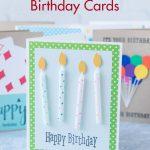 Learn to make your own simple DIY birthday cards! Keep cute handmade cards on hand for everyone. #DIY #handmadecards #birthdaycardideas   https://www.roseclearfield.com