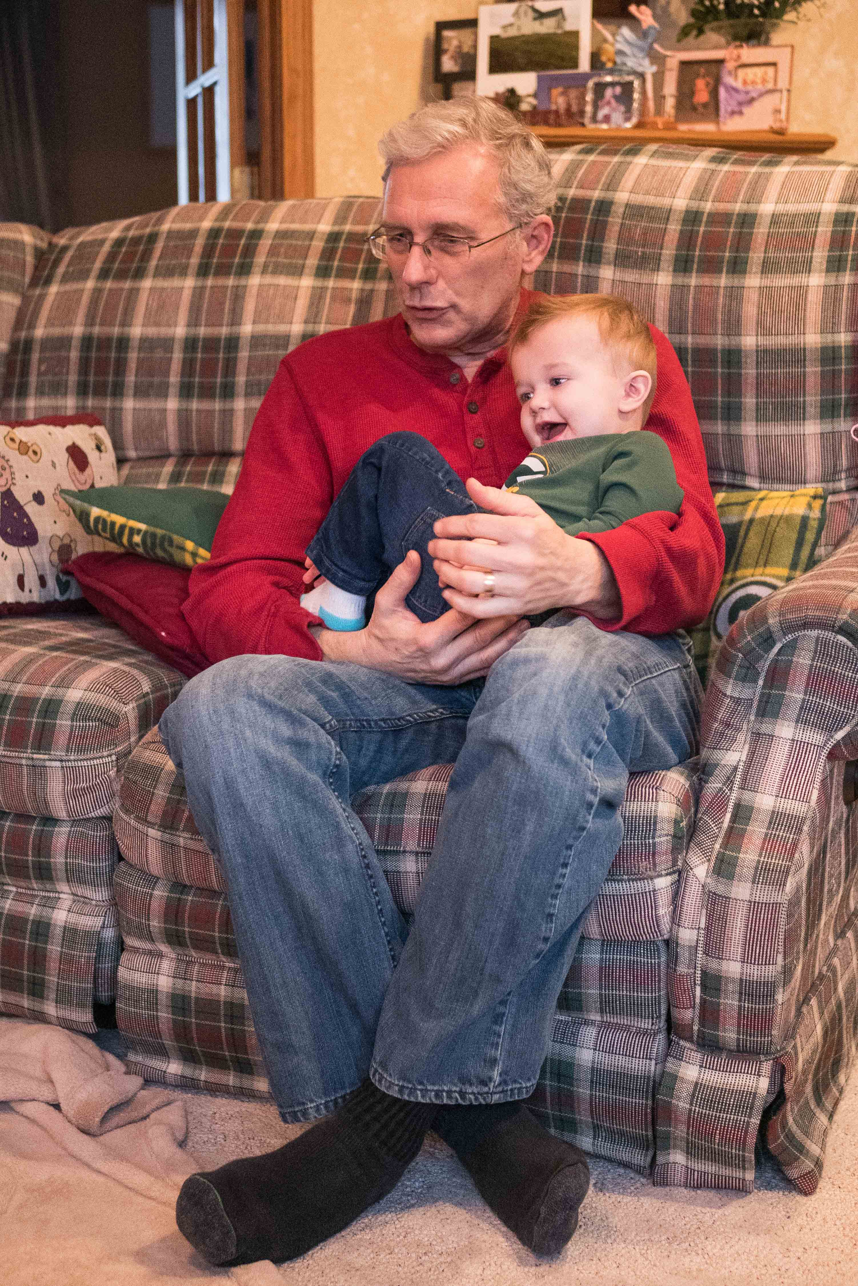Tommy and Grandpa Early March 2019 | https://www.roseclearfield.com