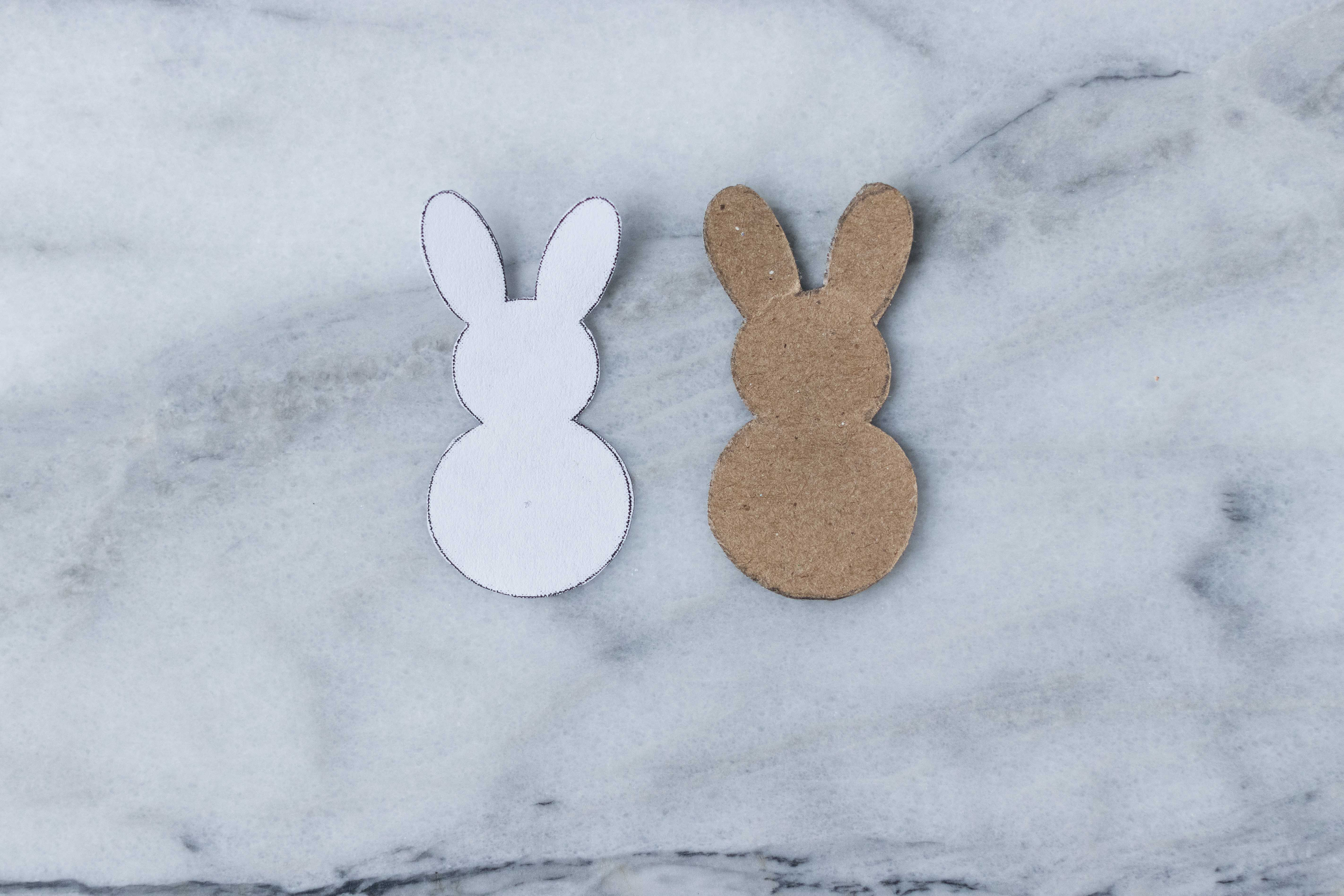 Mini Easter bunnies are perfect for creating a wide range of Easter decorations and other holiday craft projects. | https://www.roseclearfield.com