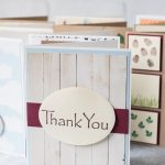 10 easy DIY thank you cards. Adds the perfect touch to notes and gifts! #DIY #thankyoucards #greetingcardinspiration | https://www.roseclearfield.com