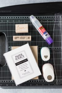 Basic card making supplies and tools. Stock up on the must-have greeting card making materials to create professional cards for all occasions! #cardmaking #greetingcardmaking #cardmakingsupplies | https://www.roseclearfield.com