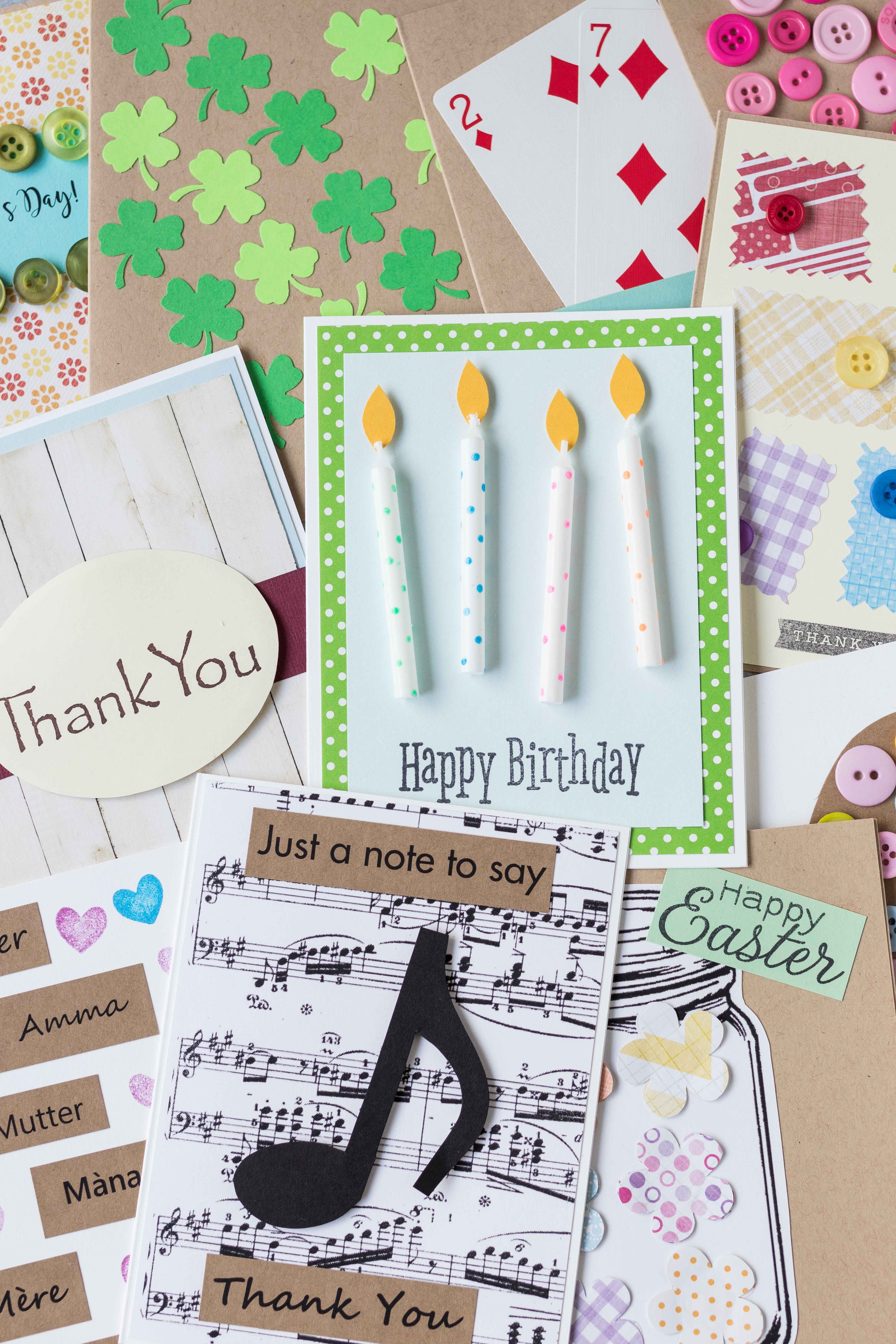 Learning to make greeting cards is simple and fun with the right tools! Learn to create professional cards to sell on Etsy or simply to give to loved ones. #greetingcardmaking #cardmakingsupplies #basiccraftsupplies | https://www.roseclearfield.com