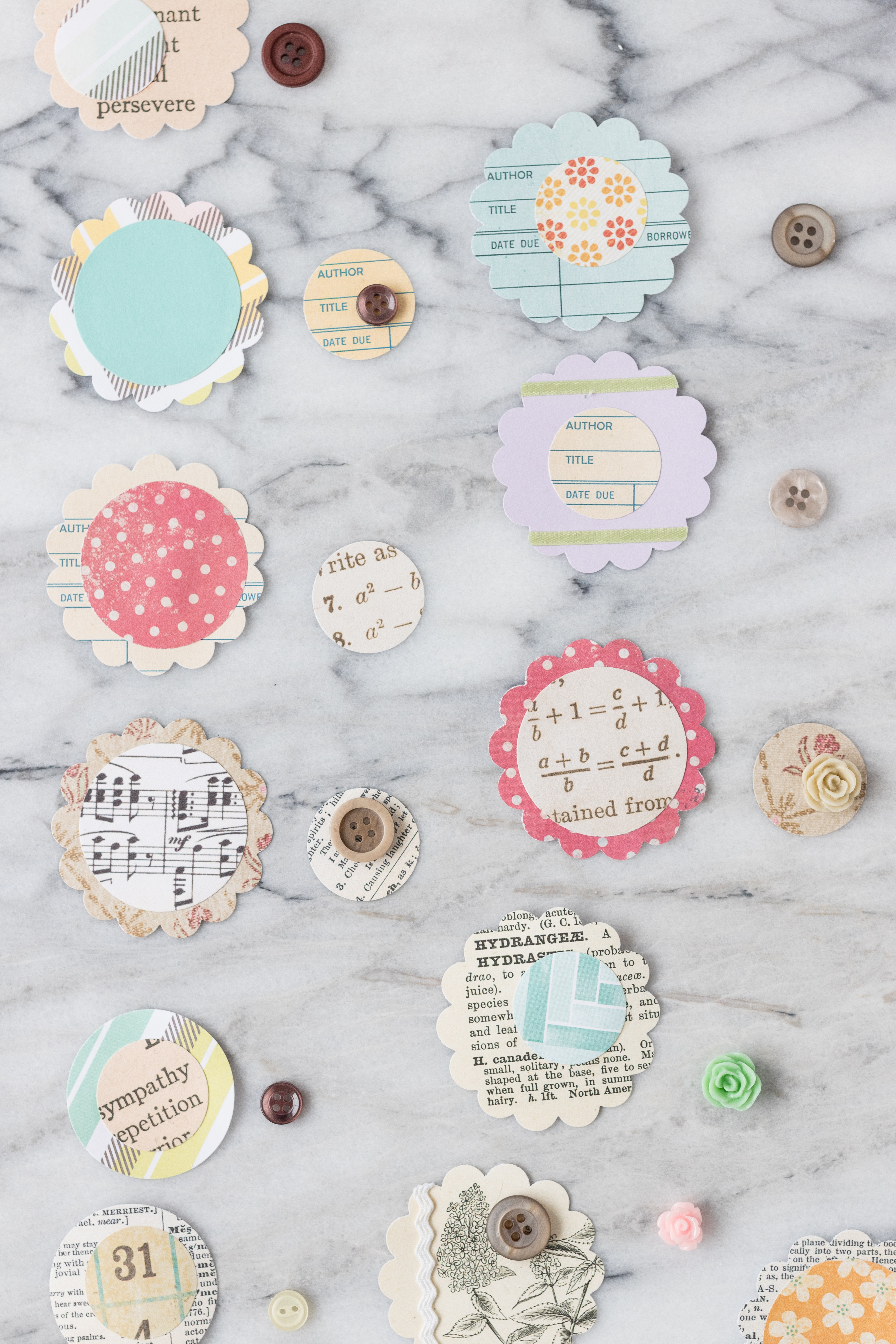 Let paper dry completely before adding new layers to keep DIY projects wrinkle free. #DIY #scrapbookpaper #scrapbookembellishments | https://www.roseclearfield.com