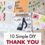 10 Simple DIY Thank You Card Ideas