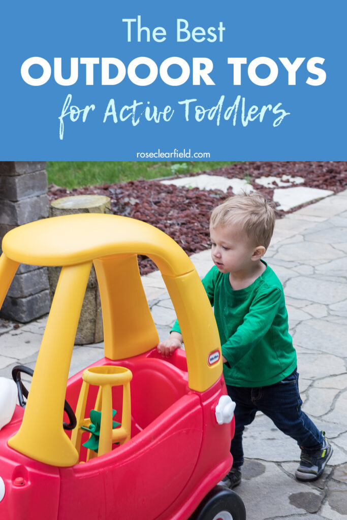 The Best Outdoor Toys for Active Toddlers