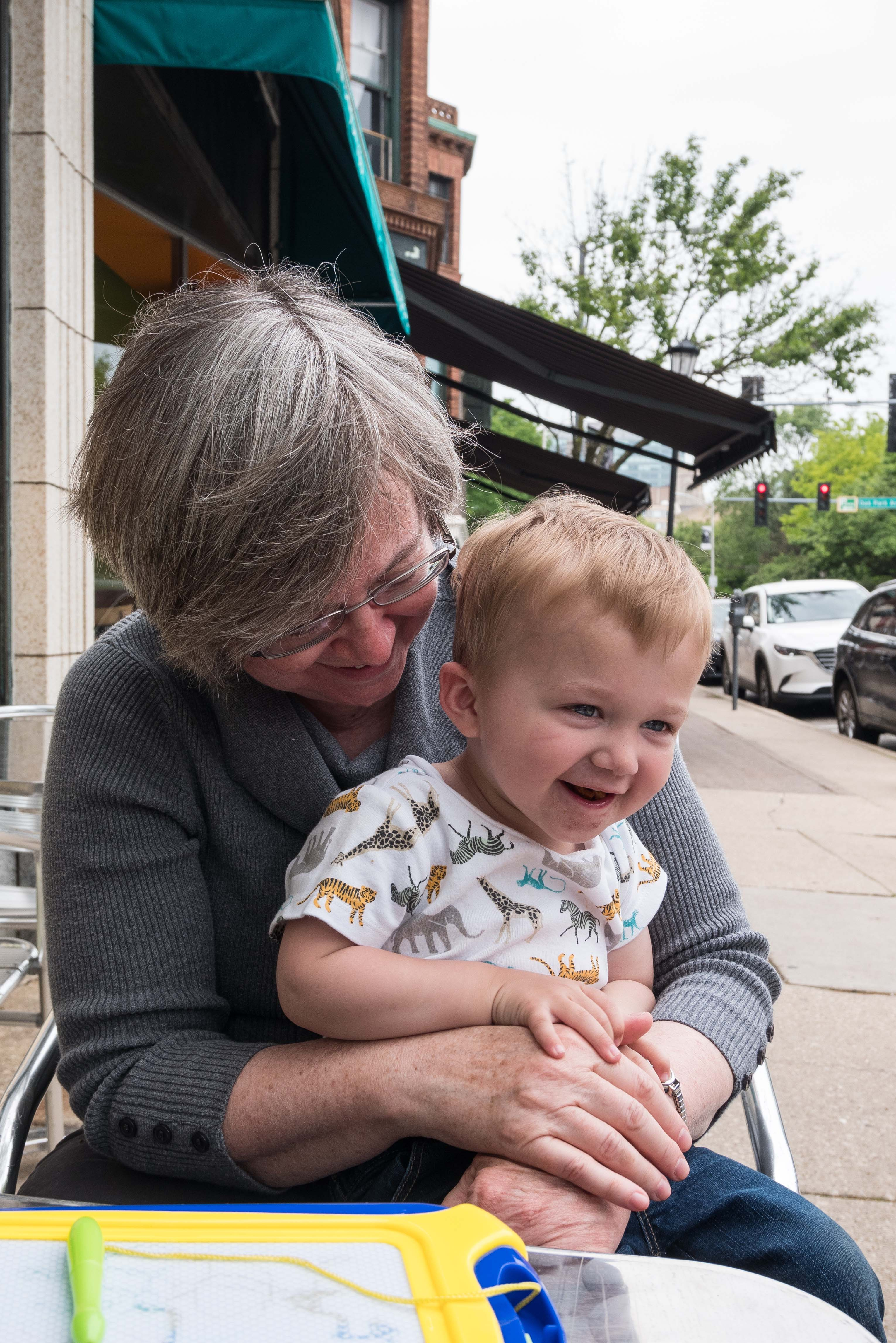 Tommy and Grandma Joan June 2019 | https://www.roseclearfield.com