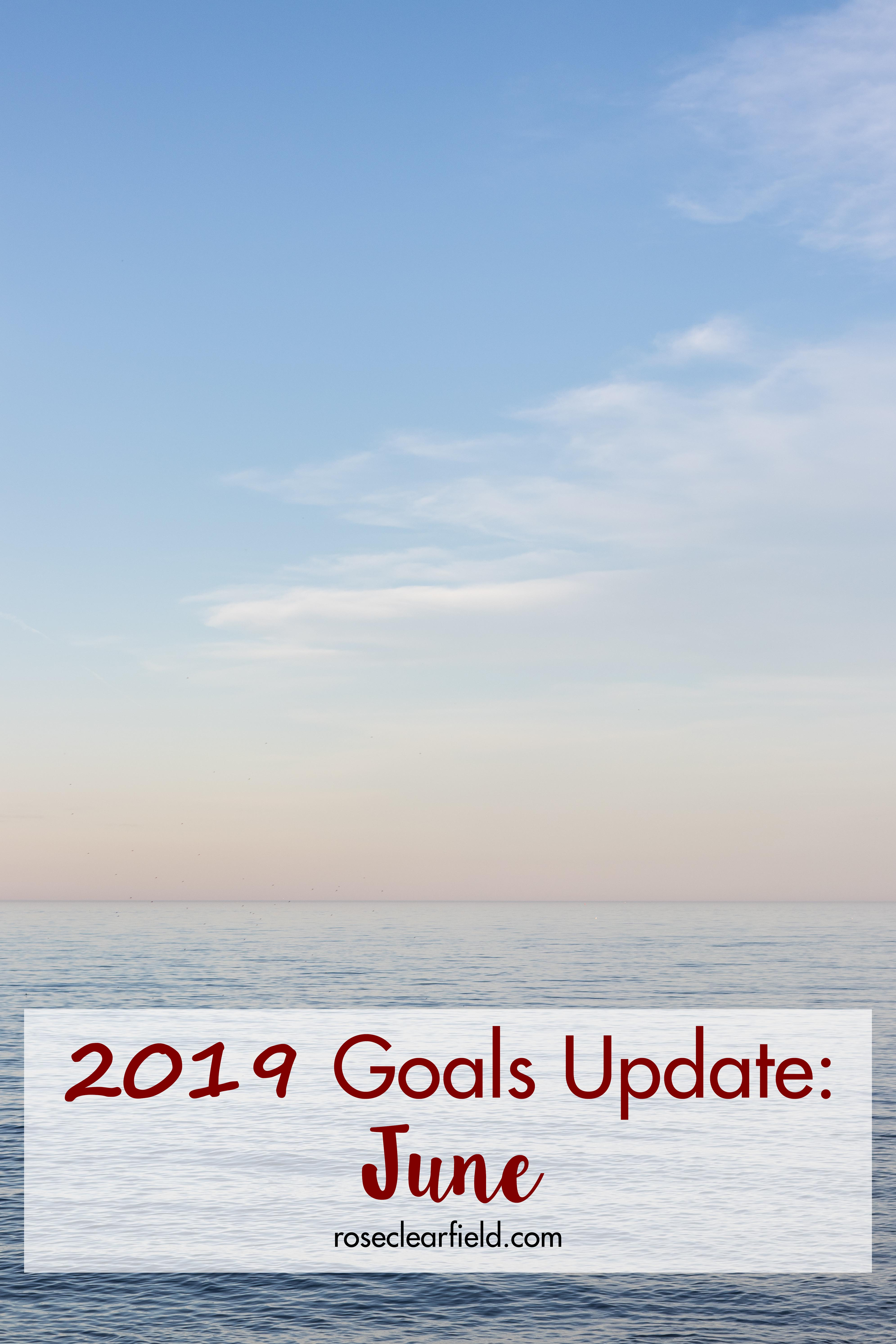 2019 Goals Update: June | https://www.roseclearfield.com