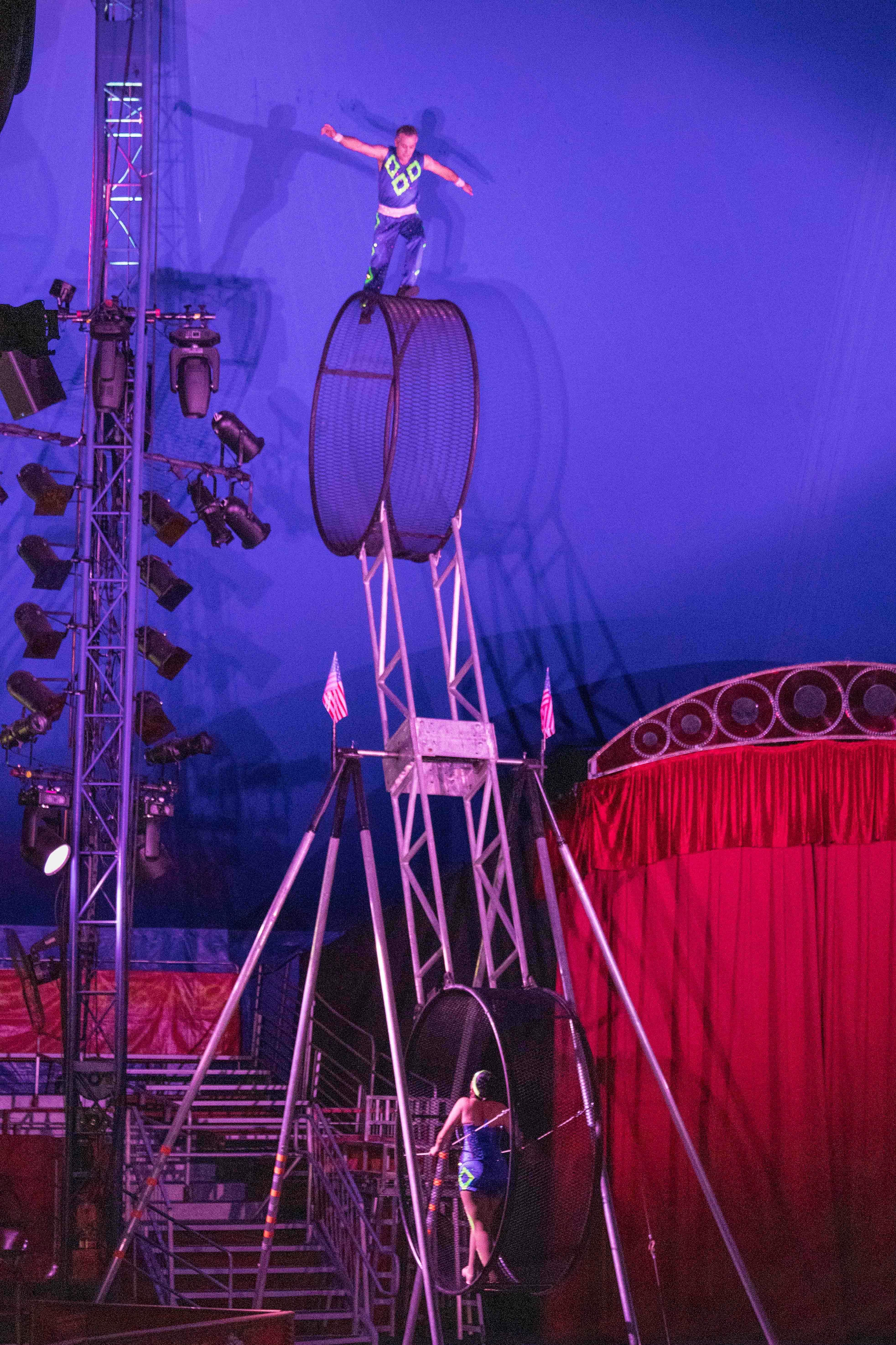 Circus World Spinning Wheel