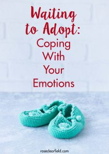 Coping with your emotions is critical for surviving the adoption wait. I cover tactics for facing jealousy, restlessness, guilt, resentment, grief, and anger. #adoption #adoptionwait #waitingtoadopt #theadoptionwait