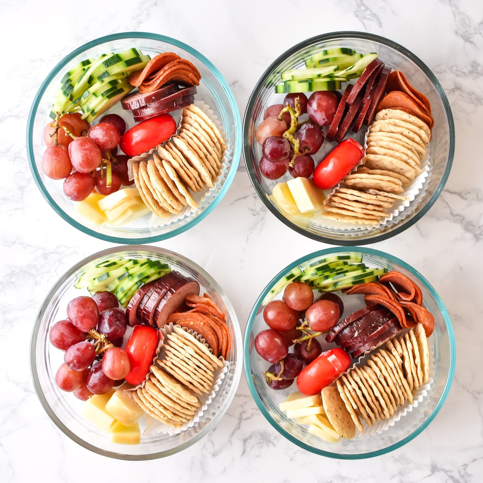 DIY Adult Lunchables Snack Lunch Project Meal Plan