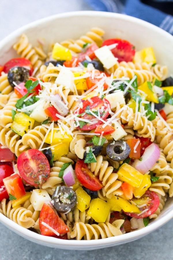 Italian Pasta Salad Kristine's Kitchen
