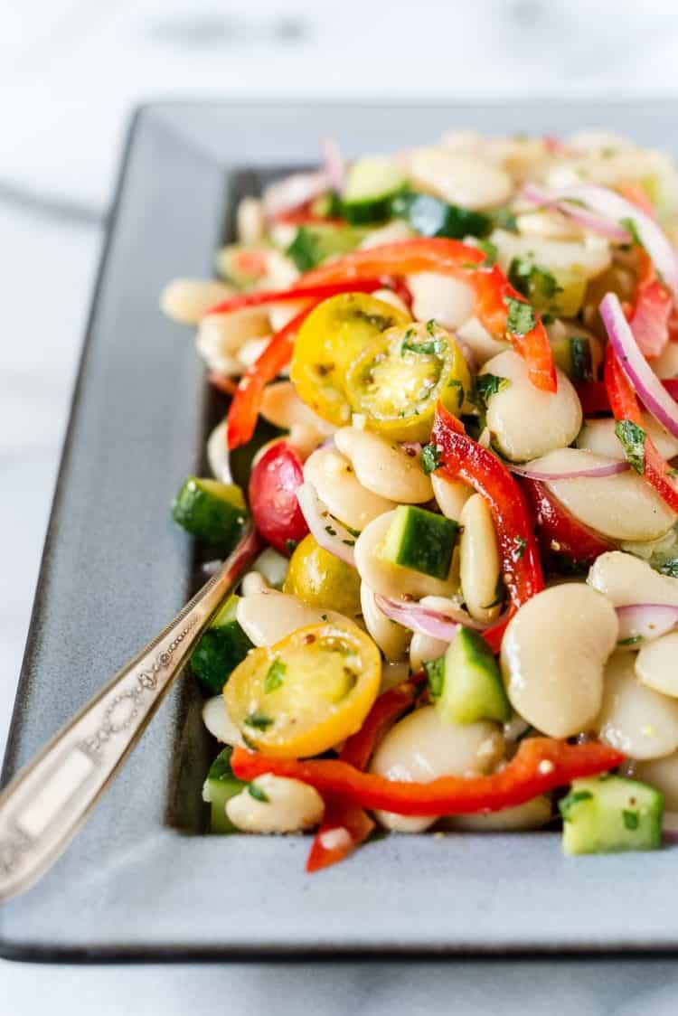 Lima Bean Salad Kitchen Confidante
