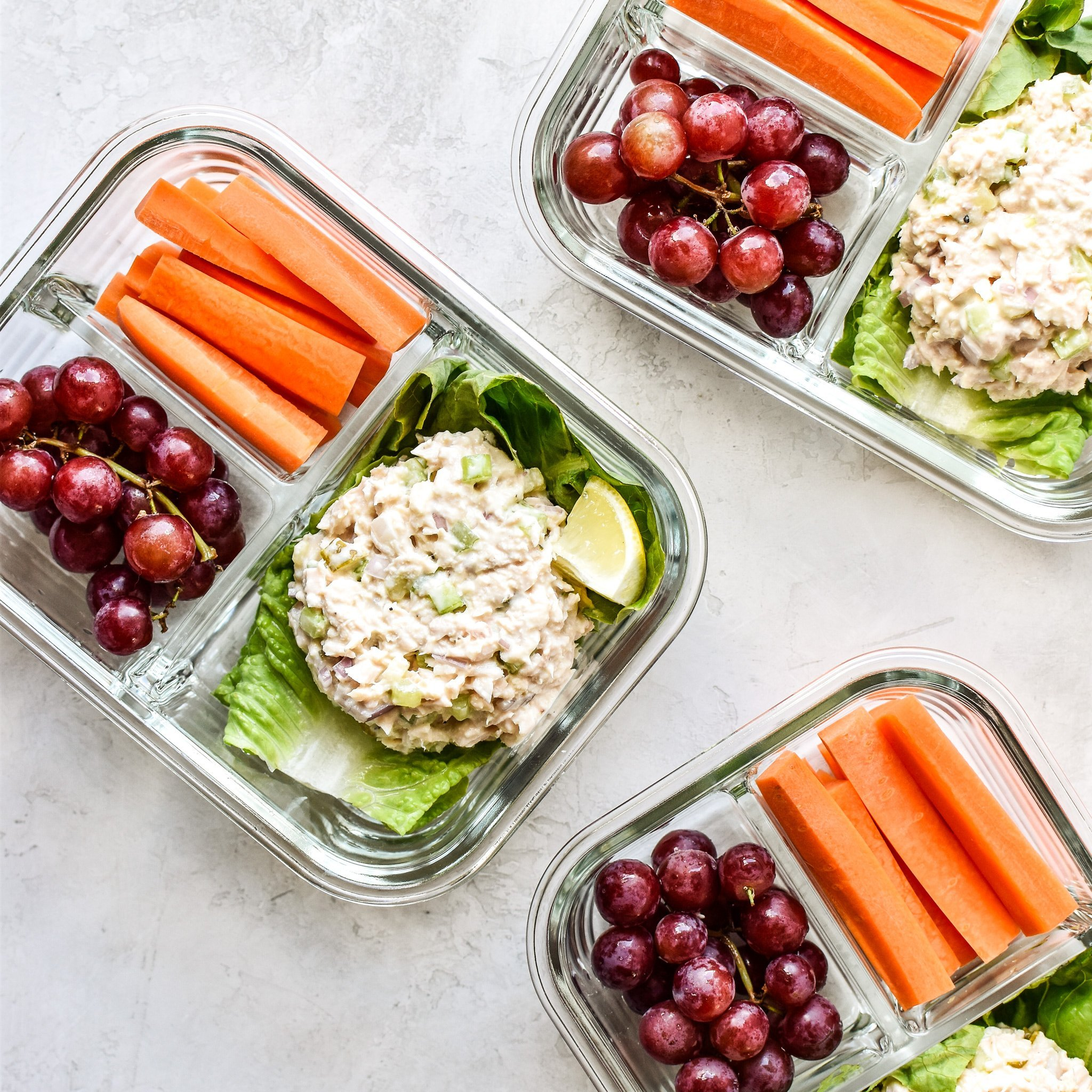 Low Carb Tuna Salad Lettuce Wraps Meal Prep Project Meal Plan