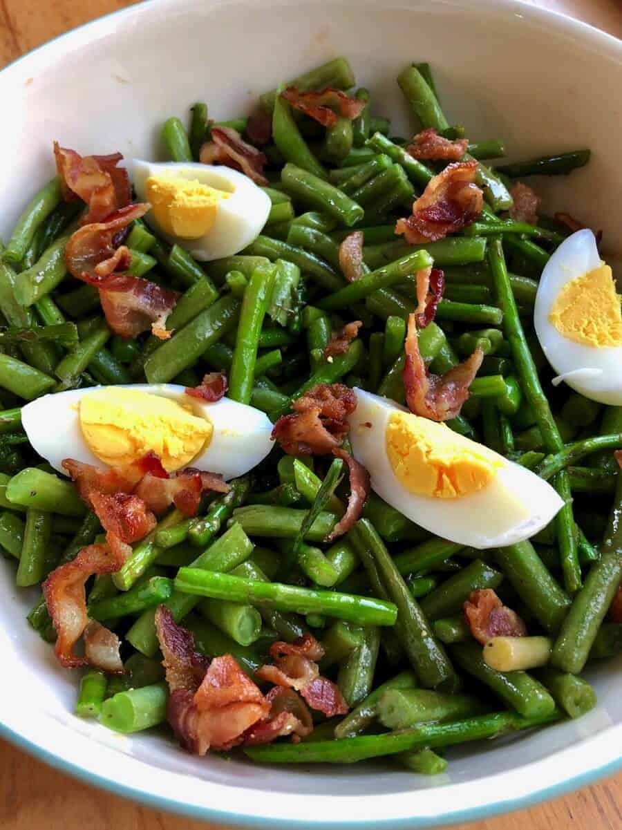 Roasted Asparagus and Green Bean Salad This Farm Girl Cooks