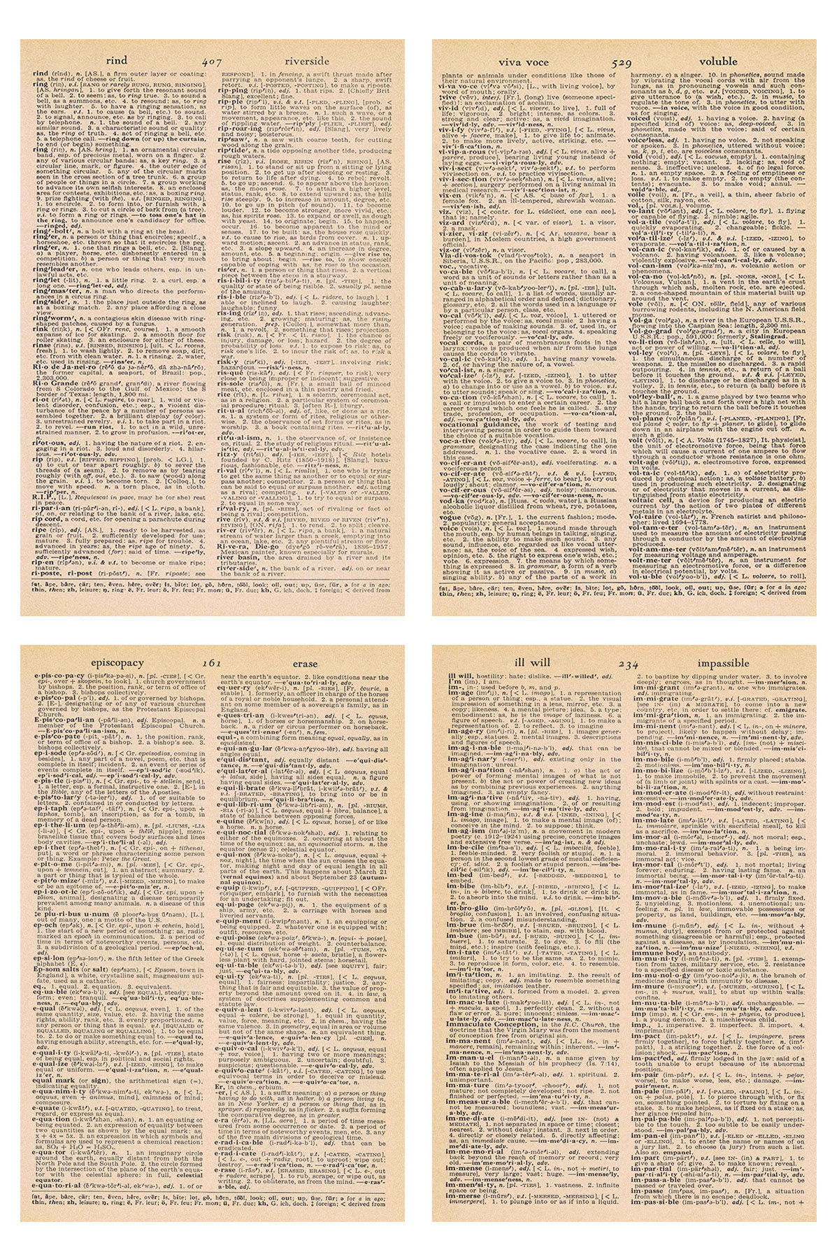 Vintage Dictionary Full Text Pages