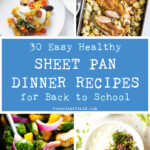 30 Easy Healthy Sheet Pan Dinner Recipes