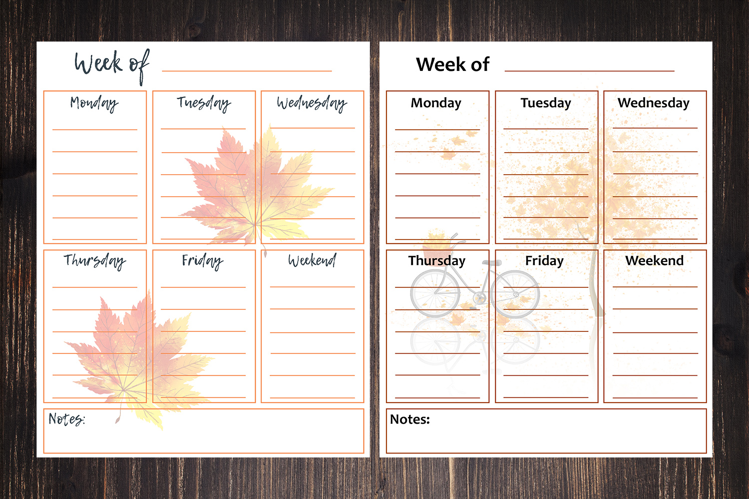 8 x 10 Free Printable Week Of To Do Lists