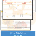 Free Printable Autumn Recipe Cards Collection