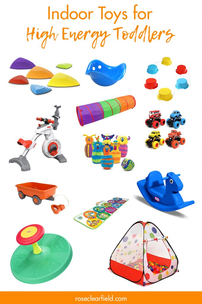 Indoor Toys for High Energy Toddlers