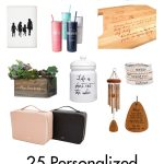 25 Personalized Gift Ideas for Mom